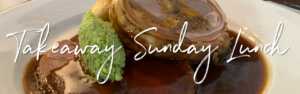 Angel Inn Grosmont Sunday Lunch Banner